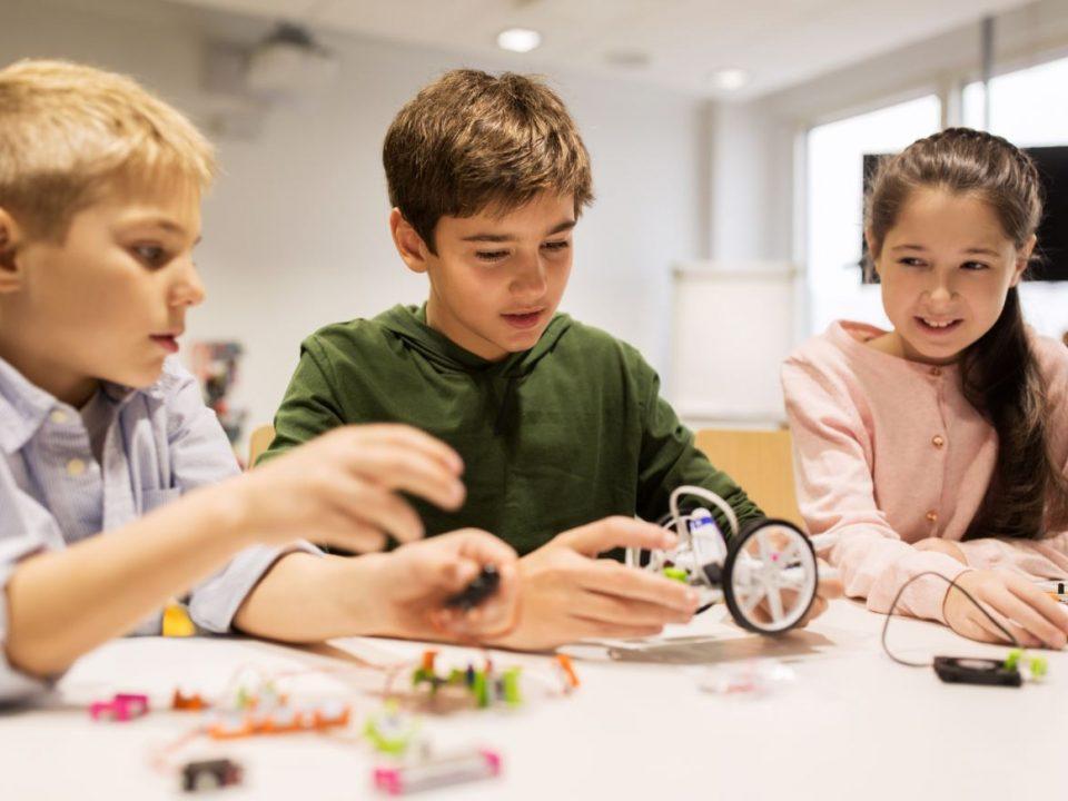 Tecnología robótica para niños